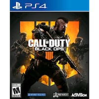PS4 Call of Duty Black Ops llll game case Sterling, 20166