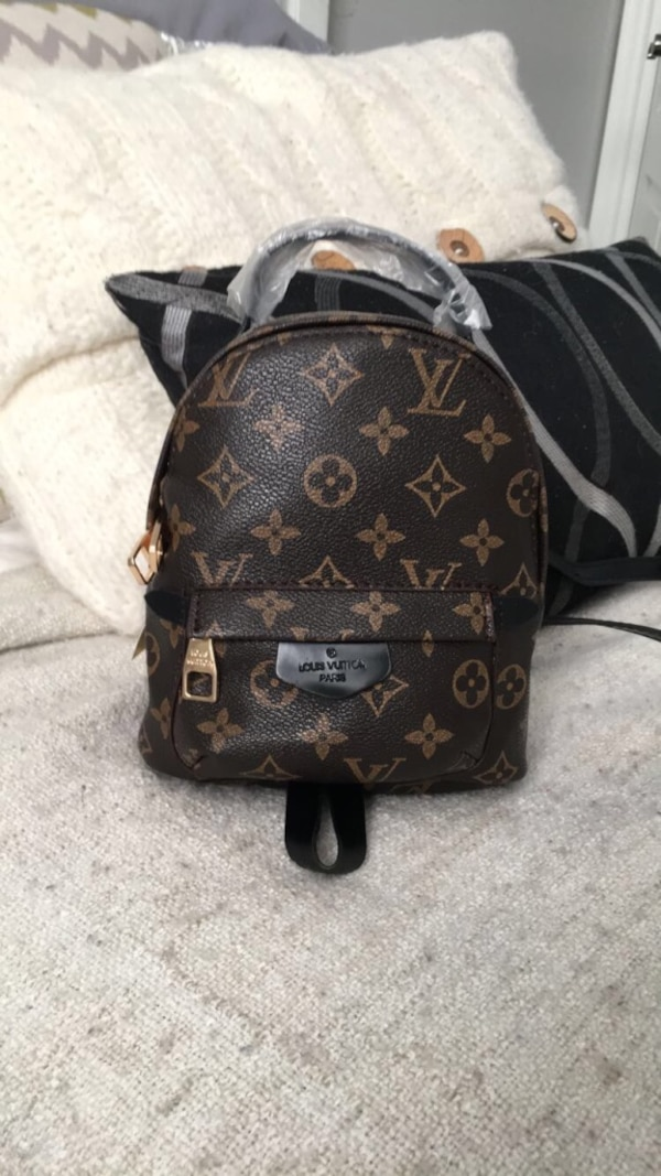 20ef0c2cfa199 Used Louis Vuitton Palm Springs mini backpack for sale in Toronto - letgo