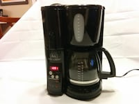 Melitta Mill & Brew 10-Cup Grind Coffee Maker MEMB1 Black Reston