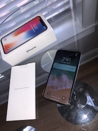 apple iphone x max 256gb silver SEVILLE