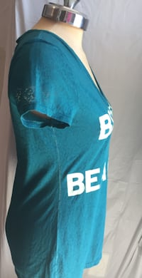 Women's Large Turquoise T-Shirt Mississauga