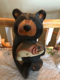JEFF FLEMING MONTANA BIG SKY HAND CARVED BEAR Chilliwack, V2R 0C8
