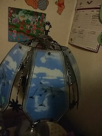 blue and white dolphin printed lampshade Hazel Park, 48030