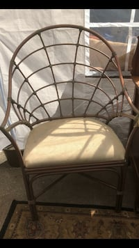 A Pair of Chines Chippendale Copper Chairs Lithonia, 30058