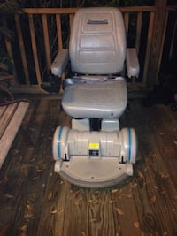 gray hovermound power chair