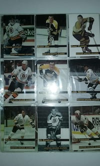 1998, Bruins alumni cards