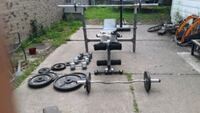 Weight bench and set Houston, 77004