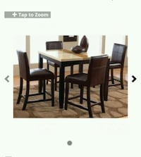 Marbletop dining room table with chairs  El Paso, 79938