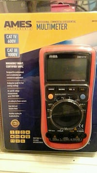 AMES  PROFESSIONAL  COMMERCIAL  &  RES. MULTIMETER Murrieta, 92563