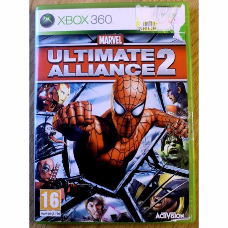 Xbox 360 - Marvel Ultimate Alliance 2 (Activision) Horten