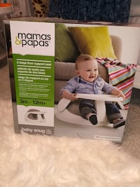 Mamas & Papas 2 Stage Floor Support Seat BABY SNUG Richmond Hill, L4B 3V5