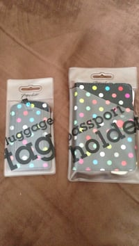 NEW passport holder and luggage tag Brampton, L6V 4K6