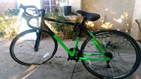 green and black 10 Speed  road bike Lancaster, 93536