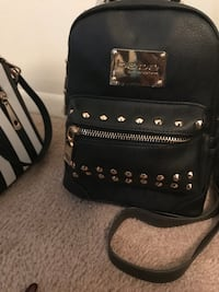 Small bebe studded backpack