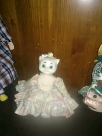girl doll in white and pink dress West Warwick, 02893