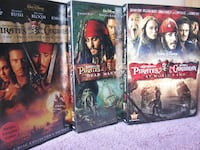 Pirates the Caribbean Trilogy (DVD) 539 km
