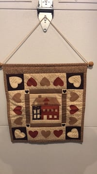"QUILTED HANDMADE SCROLL 16""x18"" Littlestown, 17340"