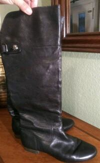 black leather Guess boot 1263 mi