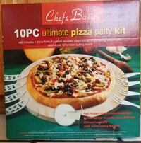 Pizza, 10 Piece Limited edition Pizza Party Kit