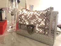 Bling bling Dior inspired purse , perfect for fancy dinner or a night out with the girls 隆格伊, J4K