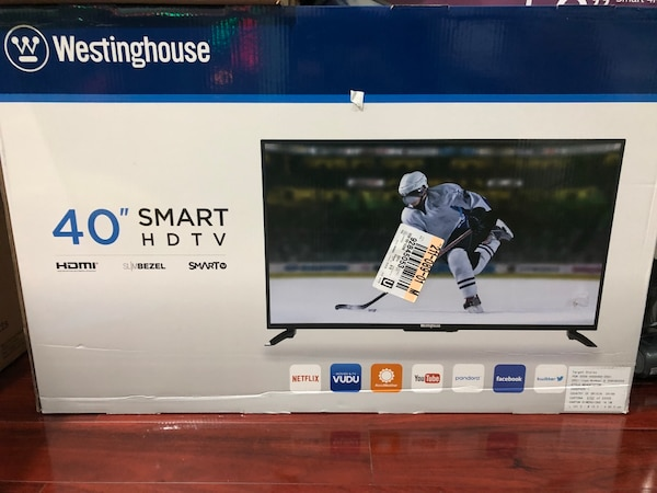 Brand new 40 inch Westinghouse smart LED TV!