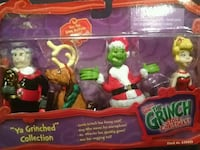 The Grinch Action Collectibles Set Gettysburg, 17325