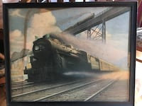 Vintage NY Central print Hopewell Junction, 12533