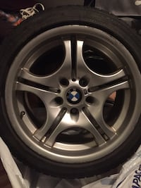 BMW M Mags with winter tires a deal Montréal