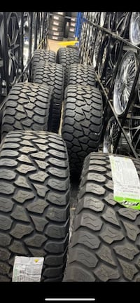 305 55 20 Inch amp all terrain tires