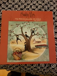 P Buckley Moss 750 piece jig saw puzzle Centreville
