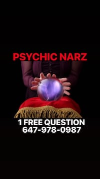 PSYCHIC READINGS BY NARZ 1 FREE QUESTION Toronto, M4J 2T9