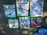 Xbox 1 and 360 Sports Games Rocklin, 95765