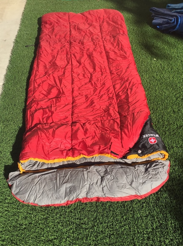 Wenger Rectangular Backng Sleeping Bag