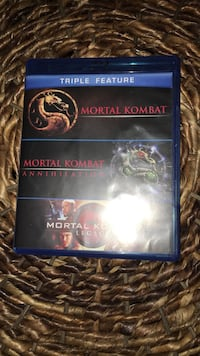 Mortal Kombat bluray set Omaha, 68104