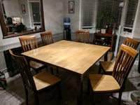 kitchen table and chairs Hamilton, L0R