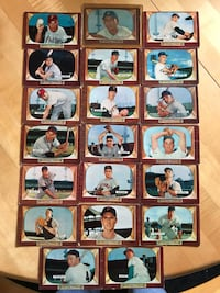 1955 TOPPS BASEBALL CARDS (20) * GIL HODGES * HARD TO FIND CARDS * Lafayette, 94549