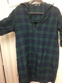 Flannel long shirt/mini dress XL San Jose, 95129
