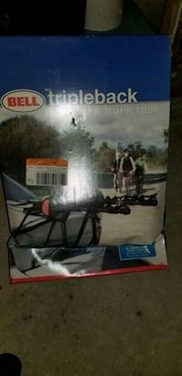 Bell Triple Back Bike Trunk Rack