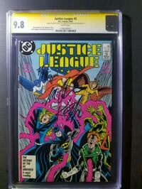 Justice League 2 vol 2 (1987) (SS CGC 9.8) NM/MT Woodmore