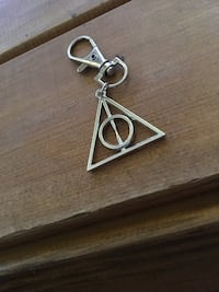 Silver-colored Harry Potter deathly hallows keychain Toronto, M6M