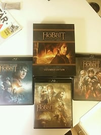 The Hobbit 9disc blueray EXTENDED EDITION