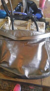 gray coach leather tote bag Calgary, T2J 6T6