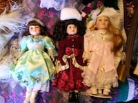porcelian dolls collectable Federal Way, 98003