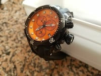 round black Invicta chronograph watch Ashburn, 20147