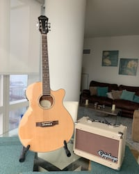 Epiphone PR-4E acoustic-electric guitar and amp New York, 10001