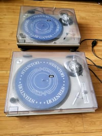 two black and gray vinyl records Brooklyn, 11249