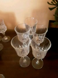 7 wine glasses total Middleton, 01949