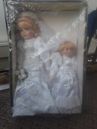 Wedding porcelain dolls Newmarket