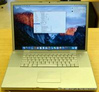 "Macbook pro 17"" 2.4GHz Osx El Capitan  Easley, 29640"