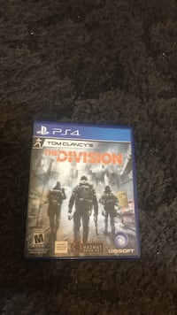 The Division PS4 game case Tucson, 85705